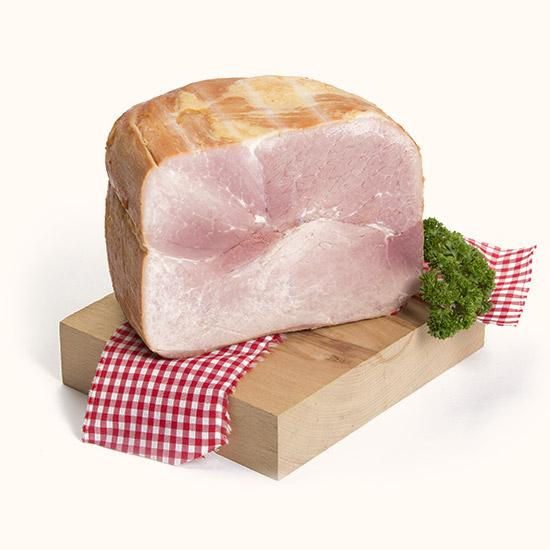 Cooked ham in a mould